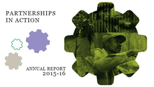IIED's 2015-16 Annual Report (Image: Arc/IIED)