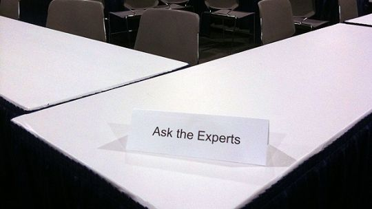 What's the use of being an expert if no one listens to you? (Photo: Chris Pirillo, Creative Commons, via Flickr)