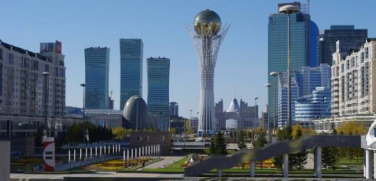 Kazakhstan's capital Astana will host the EXPO trade fair in 2017. Credit: Ken & Nyetta/Flicker (Creative Commons)