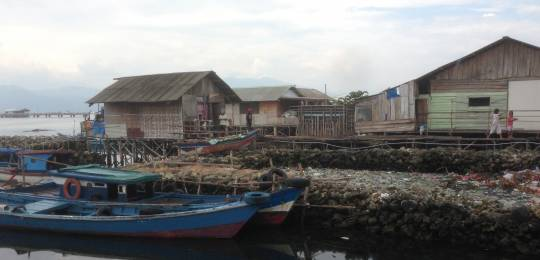 The Indonesian coastal city of Bandar Lampung is vulnerable to flooding and other climate risks.  The ACCCRN programme has been working with government and community leaders to strengthen resilience.  (Photo: David Dodman, IIED)