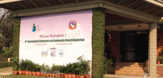 The Kathmandu Declaration was devised by delegates at the 8th International Conference on Community Based Adaptation to Climate Change (Photo: Kate Wilson/IIED)