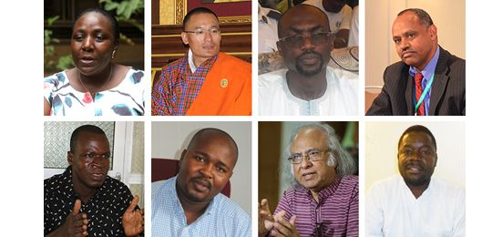 Political leaders, experts and civil society representatives from the Least Developed Countries (Image: IIED)