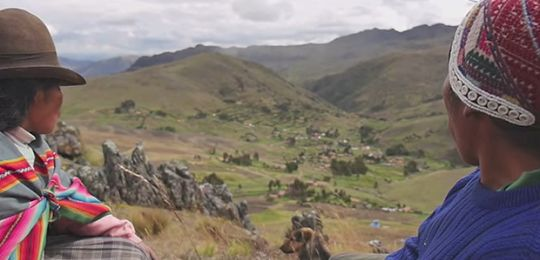 The Potato Park, Peru, which hosted a previous meeting of the International Network of Mountain Indigenous Peoples (Image: IIED)