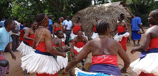 A traditional dance group, Rabai cultural village - a market innovation, Kenya (Photo: Stella Mutta)