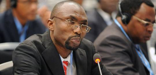 Pa Ousman Jarju, the first Special Climate Envoy to be appointed from a Least Developed Country (Photo: IISD)