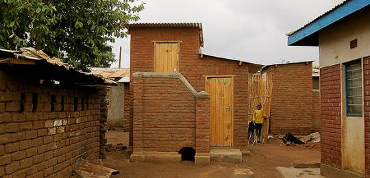 An ecosan toilet in Mtandire settlement (Photo: Slum/Shack Dwellers International)