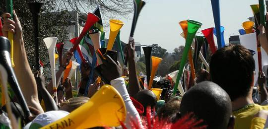 South Africans celebrate 'Vuvuzela Day': the World Forestry Congress in Durban will discuss critical forestry issues (Photo: Dundas Football Club, Creative Commons, via Flickr)