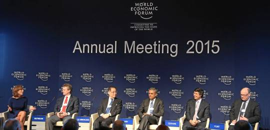 The world's top bankers discussed international financial systems at the World Economic Forum in Davos (Photo: swiss-image.ch/Remy Steinegger, Creative Commons, via Flickr)