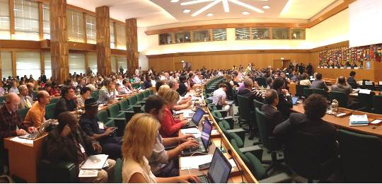 Delegates at the international symposium on agroecology (Photo: John Choptiany/FAO)