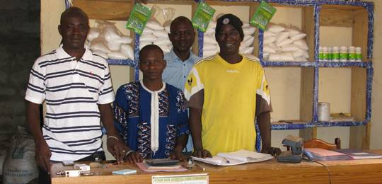 Agricultural input dealers in Selingué, Mali (Photo: Barbara Adolph/IIED)