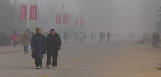 Chronic air pollution is part of everyday life for many people in China. This photo shows Anyang, the most northern city of China's Henan province (Photo: V.T. Polywoda, Creative Commons via Flickr)