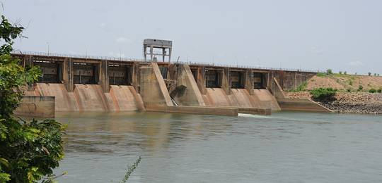 Sélingué dam in Mali (Photo: Moustapha Diallo)