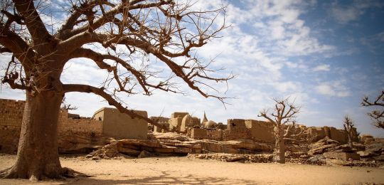 The Bandiagara plateau in Central Mali has been hit by repeated droughts. Climate change is making the weather unpredictable, resulting in poor harvests and increased malnutrition (Photo: Irina Mosel/ODI, Creative Commons via Flickr)
