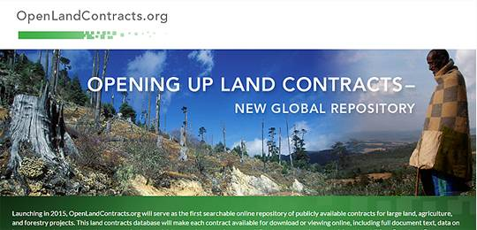 The new OpenLandContracts.org database will contain the details of publicly available investment contracts from around the world (Image: Columbia Centre for Sustainable Investment (CCSI))
