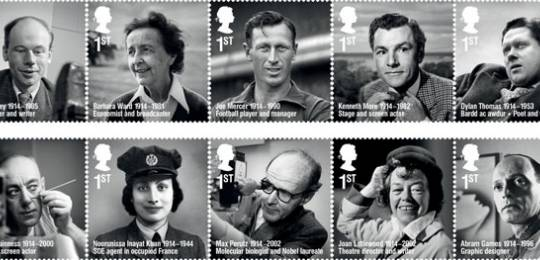 The latest ten extraordinary people to be honoured with a stamp in the Royal Mail's Remarkable Lives series