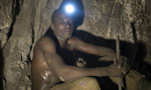 Fortunatus Waziri has been working in a small-scale gold mine since 2009 (Photo: Brian Sokol/Panos Pictures)