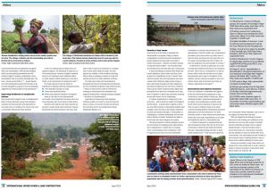 The work of GWI West Africa was featured in the April 2016 edition of International Water Power and Dam Construction magazine (Image: International Water Power and Dam Construction)