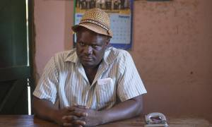 Mlindwa Maganga is the chairman of Mawemeru village (Photo: Brian Sokol/Panos Pictures)