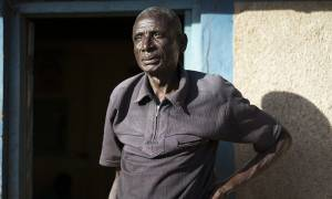 Simon Sebastian Nsangano has been a gold miner for 50 years (Photo: Brian Sokol/Panos Pictures)