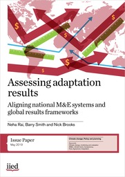 Assessing adaptation results: aligning national M&E systems and global results frameworks