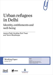 Urban refugees in Delhi: identity, entitlements and well-being