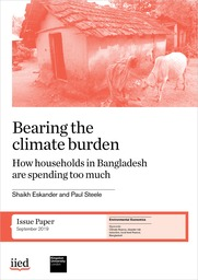 Bearing the climate burden: how households in Bangladesh are spending too much