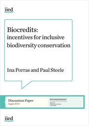 Biocredits: incentives for inclusive biodiversity conservation