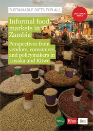 Informal food markets in Zambia: perspectives from vendors, consumers and policymakers in Lusaka and Kitwe