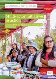 Multi-actor initiatives in action: lessons from the Sustainable Diets for All programme