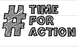 Time for action doodle