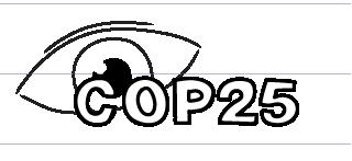Eye on COP25 doodle