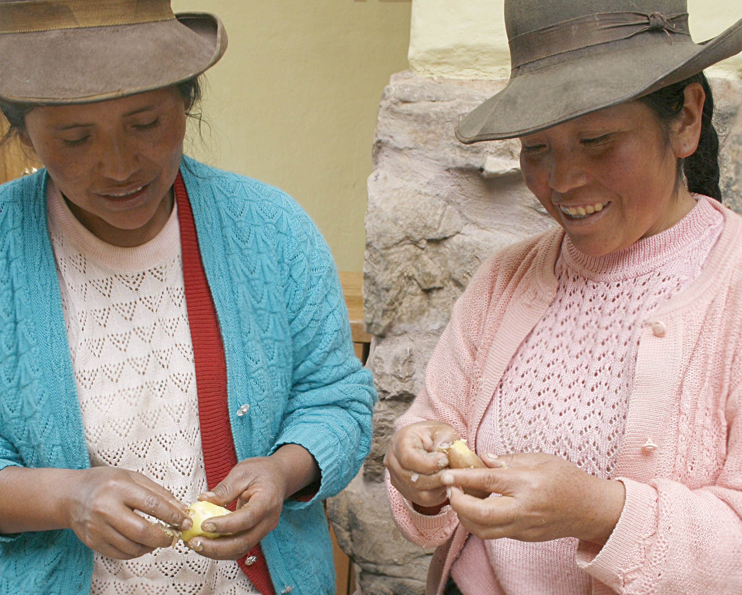 Peru's Potato Park protects the genetic diversity of local crops (Photos: Khanh Tran-Thanh/IIED)