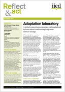 Adaptation laboratory