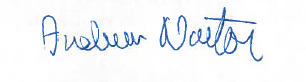 Andrew Norton signature