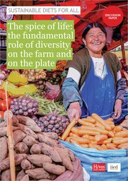 Cover of The spice of life: the fundamental role of diversity on the farm and on the plate