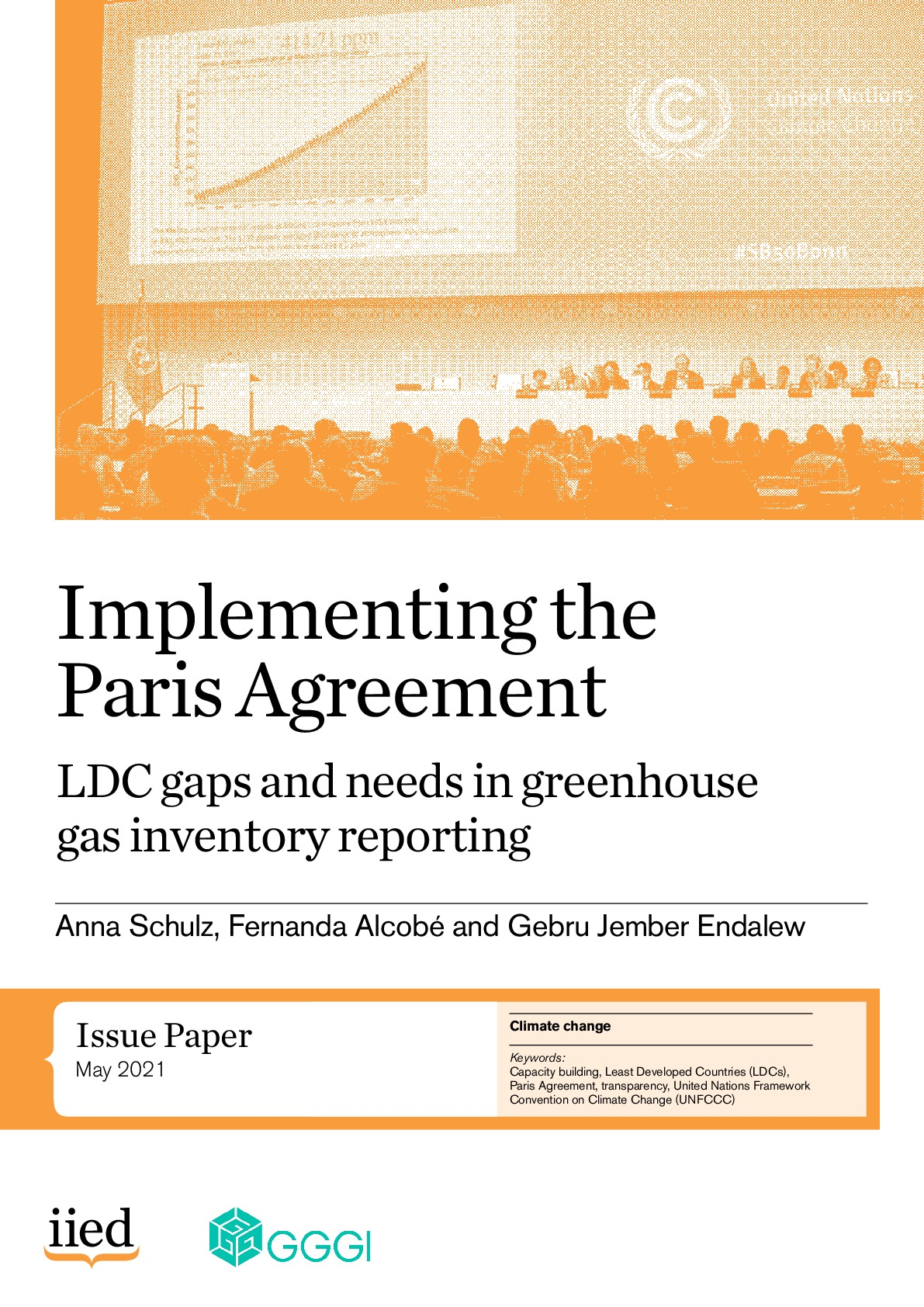 Implementing the Paris Agreement: LDC gaps and needs in greenhouse gas inventory reporting