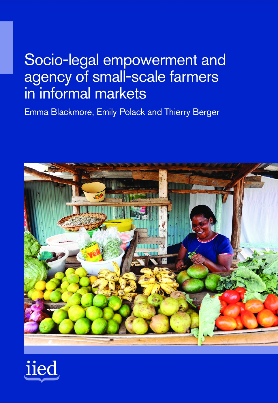 Socio-legal empowerment and agency of small-scale farmers in informal markets