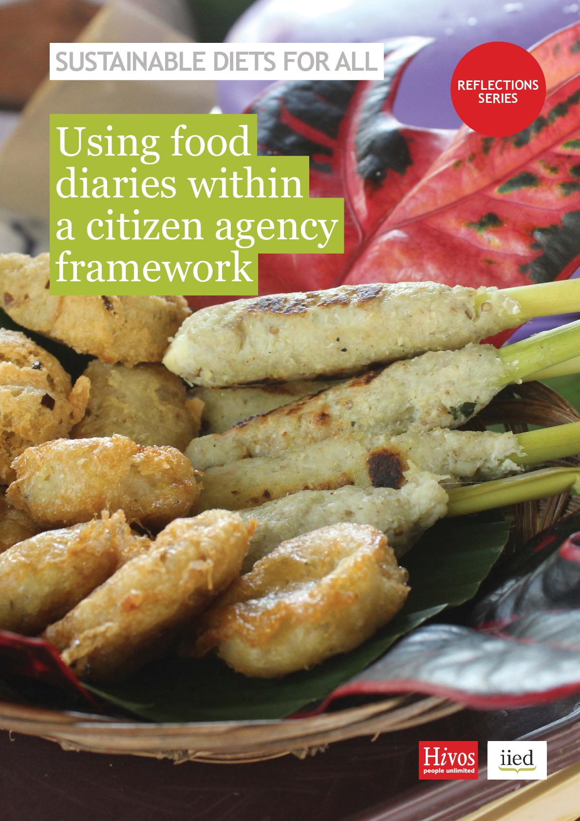 Using food diaries within a citizen agency framework