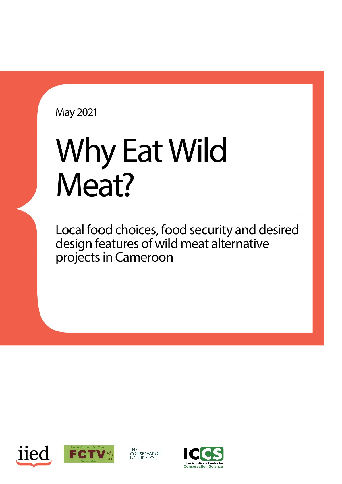 Why eat wild meat? Local food choices, food security and desired design features of wild meat alternative projects in Cameroon
