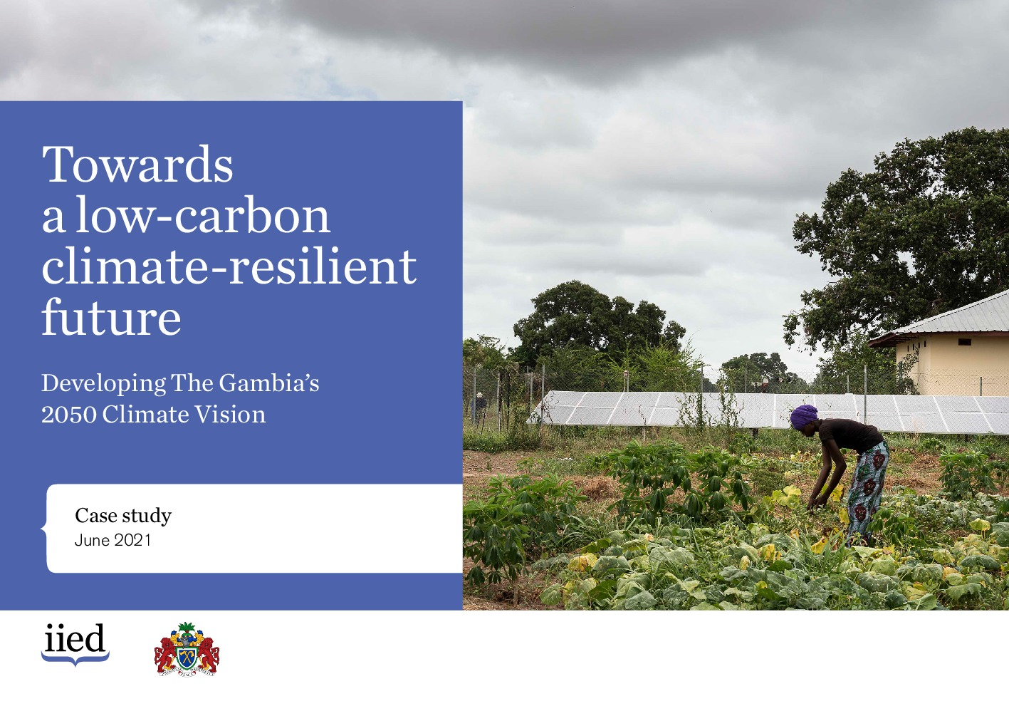 Towards  a low-carbon climate-resilient future. Developing The Gambia's 2050 Climate Vision