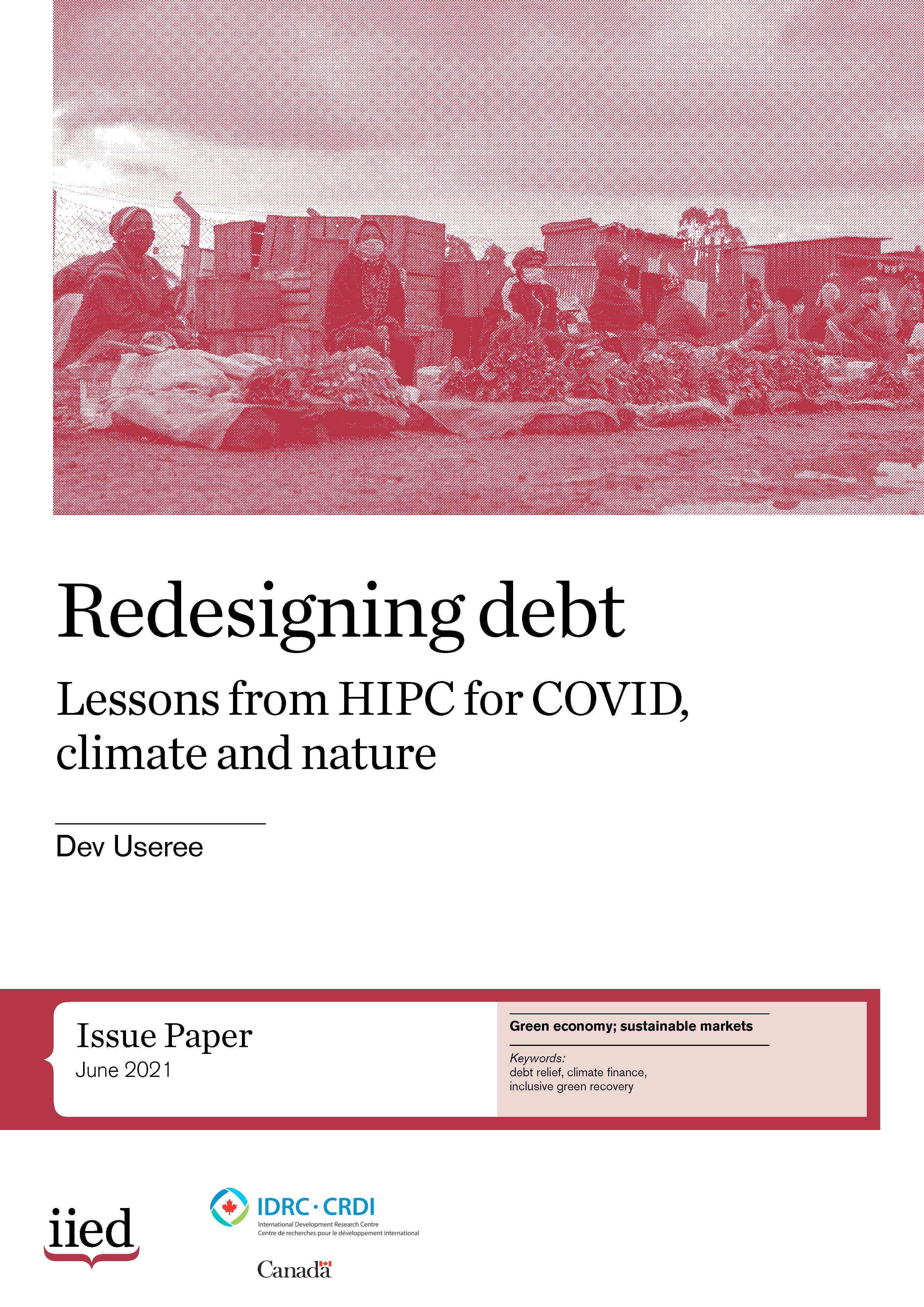 Redesigning debt: lessons from HIPC for COVID, climate and nature