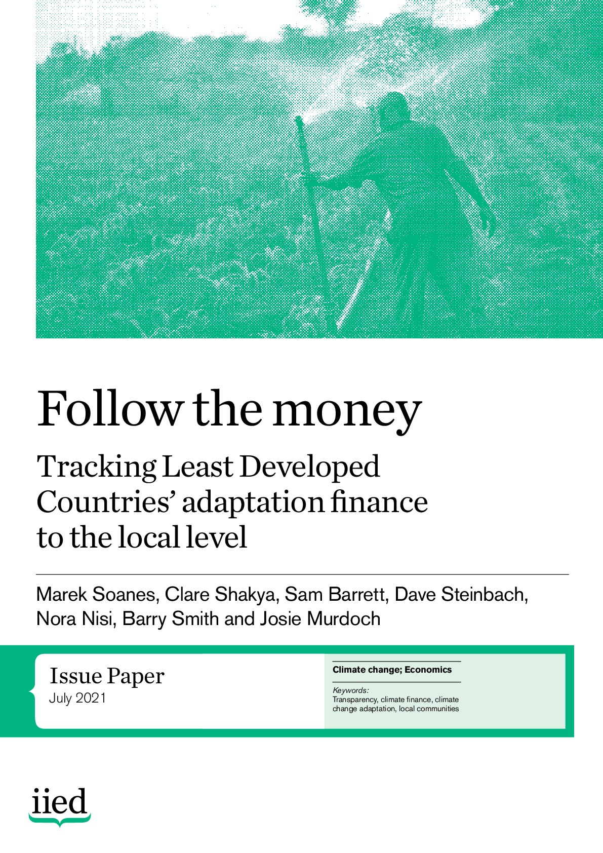 Follow the money: tracking Least Developed  Countries' adaptation finance to the local level