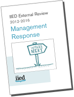 Management response cover