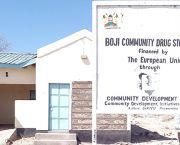 Boji Drug Store: financed by the European Union through the Community Development Trust Fund (Photo: John Nyangena)