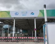 The COP23 venue in Bonn nears completion (Photo: Achala Abeysinghe/IIED)