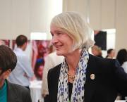 IIED director Camilla Toulmin enjoys the 12th D&C Days event at COP20 in Lima, Peru (Photo; Red Cross Red Crescent Climate Centre)