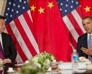 US President Barack Obama during a bilateral meeting with Chinese President Xi Jinping in Amsterdam, Netherlands, in 2014. Bilateral meetings are a key part of climate diplomacy (Photo: US Embassy, The Hague, Creative Commmons, via Flickr)