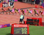 Reacting quickly to events, as these 100m runners are to the starting pistol at the 2012 Olympic Games, is just as essential in communications (Photo: Marc, Creative Commons, via Flickr)