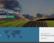The new OpenLandContracts.org database contains the details of publicly available investment contracts from around the world (Image: Columbia Centre for Sustainable Investment (CCSI))