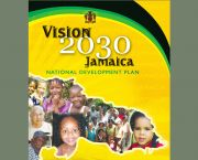 The cover of Vision 2030 Jamaica